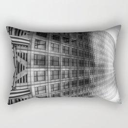 Canary Wharf Tower London Rectangular Pillow