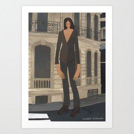 Paris #4 Art Print