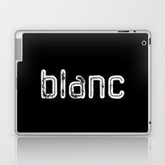 BLANC in NOIR Laptop & iPad Skin