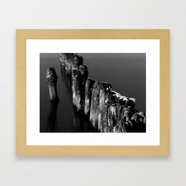 Winter Sea Framed Art Print