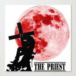Nicholas The Priest Canvas Print