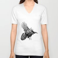 turkey V-neck T-shirts featuring Turkey by Stackshotbill