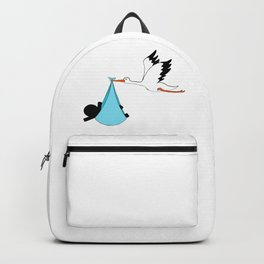 Baby boy by Oliver Henggeler Backpack