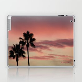 Atmospherics Number 3: Two Palms in the Sunset Laptop & iPad Skin