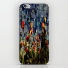 Champ de Tulipes Mosaïque iPhone Skin
