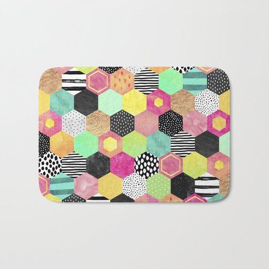 Color Hive Bath Mat