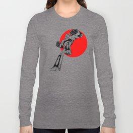 Daimos japanese Gandam Long Sleeve T-shirt