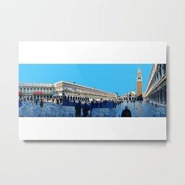 Venezia 360 Panorama by FRANKENBERG Metal Print