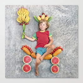 Fruit Prince Canvas Print