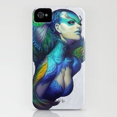 Peacock Queen Slim Case iPhone (4, 4s)