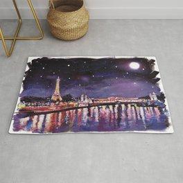 Paris at Night Rug
