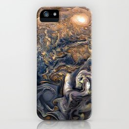 Jupiter's Clouds iPhone Case