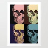 Schizo 2 Art Print