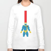 cyclops Long Sleeve T-shirts featuring Cyclops by gallant designs