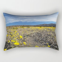 Rising Bloom Rectangular Pillow