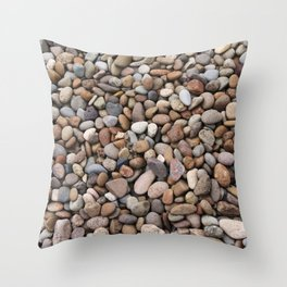 Rocks of Winlock Throw Pillow