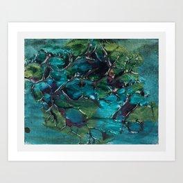 Paroxetine Depths Art Print