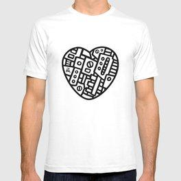 Iron heart (B&W Edition) - PM T-shirt
