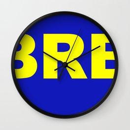 BRB Wall Clock