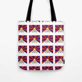 flag of thibet,བོད,tibetan,asia,china,Autonomous Region,everest,himalaya,buddhism,dalai lama Tote Bag