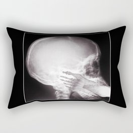 Foot In Mouth X-Ray Rectangular Pillow