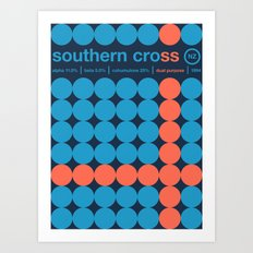 southern cross single hop Art Print