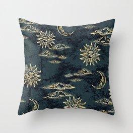 Celestial Toile 2 Throw Pillow