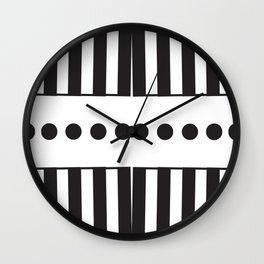 """Dot Your j's - The Didot """"j"""" Project Wall Clock"""