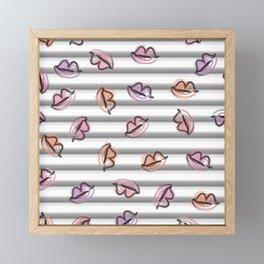 Kiss, Kiss Framed Mini Art Print