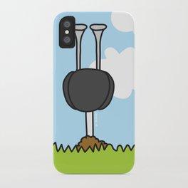 Oz the Ostrich iPhone Case