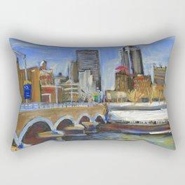 Des Moines, Iowa Rectangular Pillow