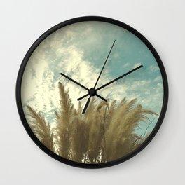 blue Texas cortador Wall Clock