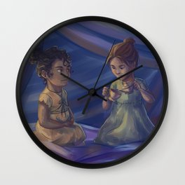 Winter and Selene Wall Clock