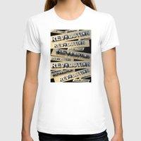 revolution T-shirts featuring Revolution by politics