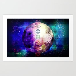 Reach Out To The Stars Art Print