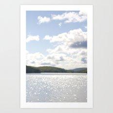 Lac Phillippe, Gatineau Park, Quebec, Canada Art Print