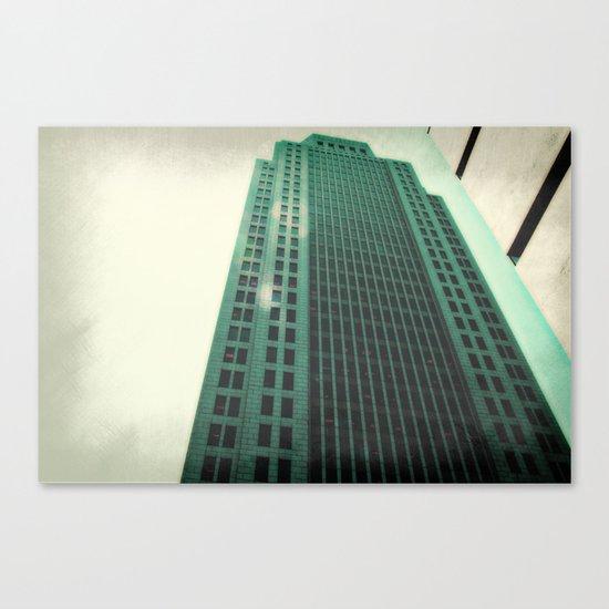 Greeny  Canvas Print