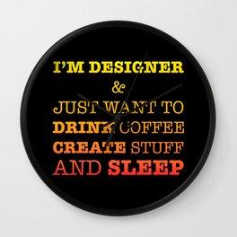 Im designer Wall Clock