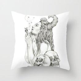 Bruja Throw Pillow