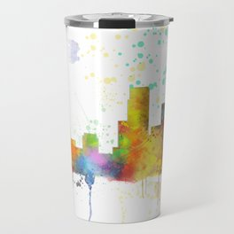 Newark, New Jersey Skyline Travel Mug