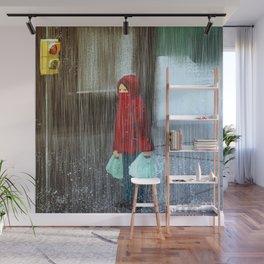Rain Wall Mural