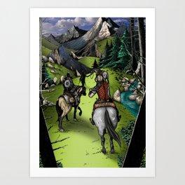 The Journey's Start Art Print