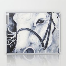 Pale White Horse Laptop & iPad Skin