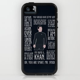 John Harrison / Khan iPhone Case