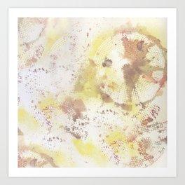 Mixed Media Abstract #2 Art Print