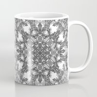 snowflake Mugs featuring Snowflake   by ArtLovePassion