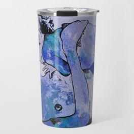 "Klimt deserves a ""Blue Period""  Travel Mug"