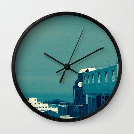 Morocco road I Wall Clock