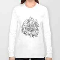 "not all those who wander are lost Long Sleeve T-shirts featuring ""Not all those who wander are lost"" by Rose24601"