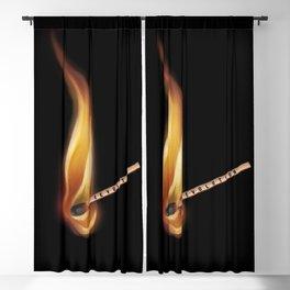 Fire match revolution  Blackout Curtain